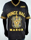 "Masons Mens ""Prince Hall"" Football Jersey Black"