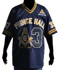"Masons Mens ""Prince Hall"" Football Jersey Navy Blue"