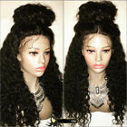 Hot Sale Kinky Curly 100% Brazlian Remy Human Hair Lace Front/Full Lace Wigs