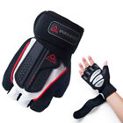 GYM LIFTING WORKOUT GRIP GLOVES Weight Strength Training Sports Exercise Fitnes