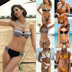 Sexy Women Bikini 2Pcs Bikini Set Push Up Bathing Suit Beach Swimsuit