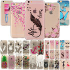 Various Designs UltraSlim Rubber Soft TPU Cover Case Clear Thin Skin For Samsung