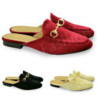 New Ladies Flat Slip On Womens Brogue Work Loafers Sandals Shoes Size Uk 3-8
