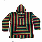 Large Poncho Baja Hoodie,Drug Rug Jacket, Unisex,Mexico Beach Shirt, 1st Quality