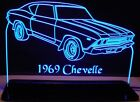 """1969 Chevelle Edge Lit Awesome 21"""" Lighted Sign Led Plaqu..."""