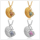 Angel Wing Crystal Locket Chimes Ball Pendant Necklaces Angel Caller Women Gift