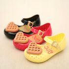 Love Heart Cookies Baby Girls Summer Shoes Kids Toddler Flat Shoes Jelly Sandals