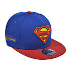 New Era Superman Team Patcher 9Fifty Men's Snapback Hat Cap Blue/Red