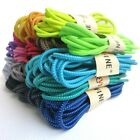 1 Pairs Round Elastic No Tie Shoe Laces for Kids Adults Laces Fit Sports Shoes