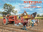 NUFFIELD FARM TRACTOR POTATO PLANTING METAL PLAQUE SIGN VINTAGE NOSTALGIC 311