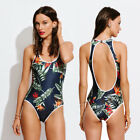 Women One Piece Monokini Swimsuit Swimwear Beachwear Push Up Bikini Set Bathing