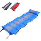AMO Inflatable Camping Mattress Air Pillow Mat Sleeping Pad Hiking Picnic Bed