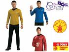 Star Trek T-Shirt Licensed Costumes - Free Express Shipping Movie Fancy Dress
