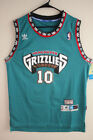 Men NBA Vancouver Grizzlies 10 Mike Bibby Hardwood Classic SewnStitched Jersey