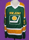 MIKE ERUZIONE 15 TOLEDO GOALDIGGERS RETRO HOCKEY JERSEY SEWN NEW XS 5XL