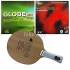 Globe 522 Blade with Globe 999T Japanese Sponge and 999 999T Rubbers