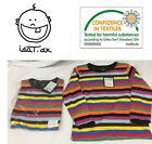 I DAT .DK DESIGNER BABY CHILDRENS  CLOTHES LONG SLEEVED STRIPED T SHIRT 2-3 YERS