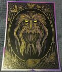 Todd Slater Nicodemus radiant irredescent foil Secret of Nimh Great Owl Print