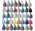 Kavu What's what Bag Sling Backpack Everyday Women's Travel Hiking Daypack Cotton Purse