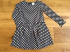 GIRLS BNWOT EX MINI BODEN LONG SLEEVE JERSEY DRESS FADED / WASHED LOOK SECONDS
