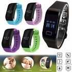 Smart Wrist Band Sleep Sport Fitness Activity Tracker Pedometer Watch Bluetooth