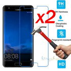 2x Premium Tempered Glass Screen Protector For Huawei P8 P9 P10 / P10 Plus Lite