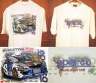 Lancer Evolution 8 FQ 4WD Drift Rally Tokyo Classic OFF-ROAD Car T-Shirt MIT012