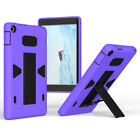 Hybrid Rugged Shockproof Stand Hard Case Cover For Amazon Kindle Fire HD 8 2016