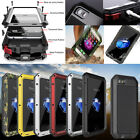 Waterproof Shockproof Aluminum Glass Metal Case Cover For iPhone 5 SE 6S 7 Plus