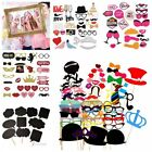 2018 Party Photo Booth Props Mustache Kit Frame Hen Night Games Wedding Birthday