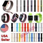 Sports Silicone Bracelet Strap Replacement Band for Apple Watch iWatch 38mm/42mm