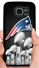NEW ENGLAND PATRIOTS NFL PHONE CASE FOR SAMSUNG NOTE & GALAXY S5 S6 S7 S8 S9 S10 $14.88 USD on eBay