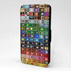 Comic DC Marvel Collage Flip Case Cover For Phone - S-T2821
