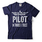 Pilot T-shirt Funny Flight School Instructor Gift for Dad father Father's Day