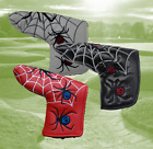 Spider Web Design Blade Putter Cover, 3 Colour Choices, ideal for Scotty or Ping