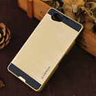Luxury Shockproof Hybrid Brushed Slim Case Back Cover For Sony Xperia Phones