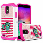Bling Hybrid Shockproof Rugged Hard Phone Case Cover for LG Stylo 3/Stylo 3 Plus фото