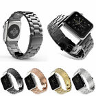 Stainless Steel Link Bracelet Watch band Strap For Apple Watch Series 4 3 2 1  image