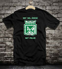 Atletico Nacional Colombia distressed t-shirt camiseta jersey black white colors
