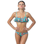 Women Triangle Push-Up Bikini Set Bandeau Bandeau Swimwear Swimsuit Beachwear