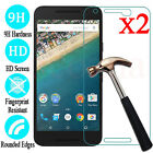 2X Premium Tempered Glass Film Screen Protector For Google Nexus 6P 6 5X 5 Pixel