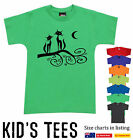 Funny T-Shirts cats on the branch print Aussie Prints Children Kids Size charts