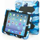 For iPad 5/6th Gen 9.7 2017/2018 Mini Case Kids SHOCKPROOF Defender Rugged Cover