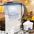 Alkaline Water Pitcher - 2.5L Pure Healthy Mineral Water Lonizer Filter Jug AC