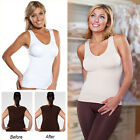 Removable Womens Body Shapewear Underwear Tank Top Slimming Camisole Vest Corset