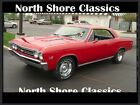 1967 Chevrolet Chevelle SS-NEW RED PAINT-ALL ORIGINAL NUMBERS MATCHING- SE 1967 Chevrolet Chevelle