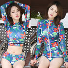 Women Long-sleeve Sunscreen Swimsuit Diving Suit New Surfing Snorkeling Clothing