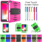 Kids ShockProof Armor Hard Case Cover With Stand For iPad 2/3/4 Mini Pro Air