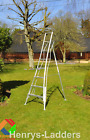 Henchman Platform Tripod Ladder (3 Leg Adj) 10' - FREE & FAST DELIVERY AVAILABLE