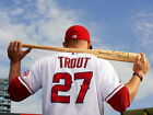 Mike Trout Los Angeles Angels of Anaheim Sport HUGE GIANT PRINT POSTER on Ebay